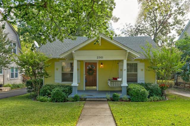 2561 Rogers Avenue, Fort Worth, TX 76109 (MLS #14459195) :: The Mauelshagen Group