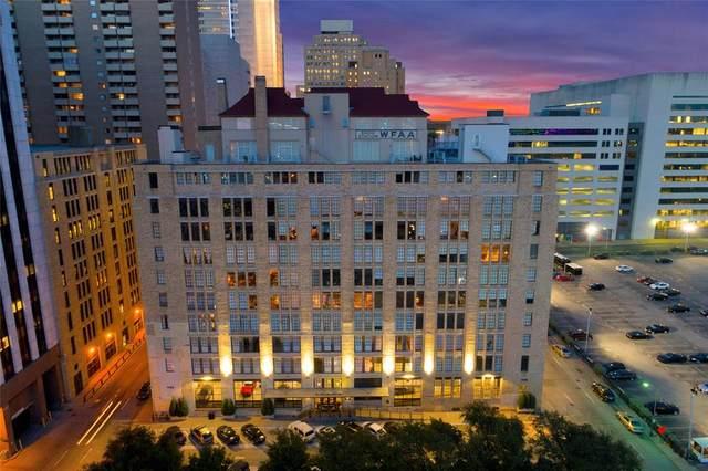 1122 Jackson Street #308, Dallas, TX 75202 (MLS #14459196) :: RE/MAX Pinnacle Group REALTORS