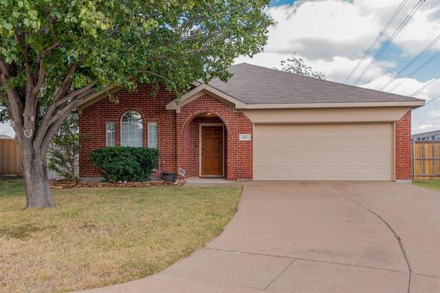 3617 Lasso Road, Fort Worth, TX 76262 (MLS #14459199) :: The Mauelshagen Group