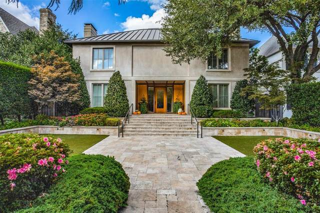 4008 Mcfarlin Boulevard, University Park, TX 75205 (MLS #14459407) :: Potts Realty Group