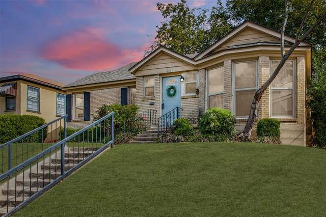 2641 Forest Park Boulevard, Fort Worth, TX 76110 (MLS #14459639) :: The Sarah Padgett Team