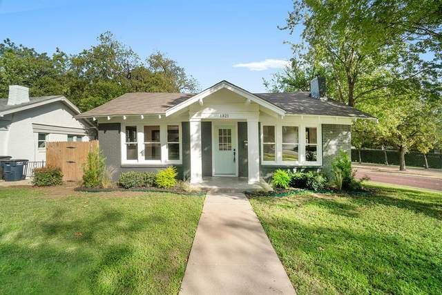 1321 Madeline Place, Fort Worth, TX 76107 (MLS #14460016) :: Robbins Real Estate Group