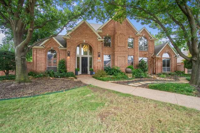 6003 Highland Hills Lane, Colleyville, TX 76034 (MLS #14460148) :: Real Estate By Design