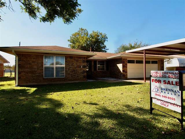 1021 Arbor Street, Olney, TX 76374 (MLS #14460461) :: The Kimberly Davis Group