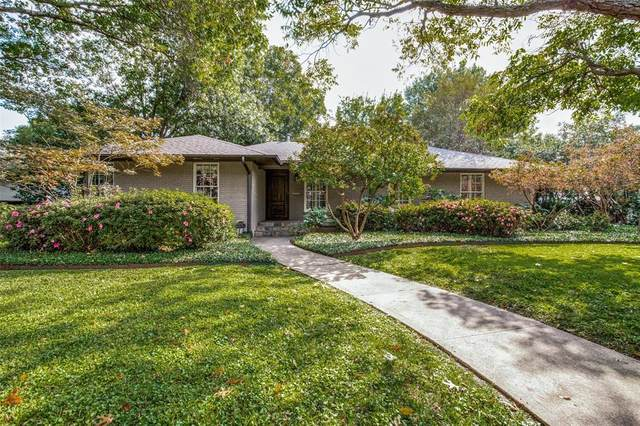 5504 Greenbrier Drive, Dallas, TX 75209 (MLS #14460970) :: The Kimberly Davis Group