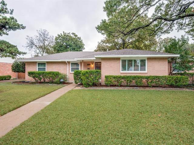 3522 Warick Drive, Dallas, TX 75229 (MLS #14461026) :: The Good Home Team