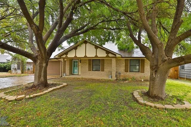717 Parsons Road, Abilene, TX 79602 (MLS #14461067) :: Maegan Brest | Keller Williams Realty