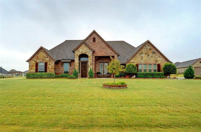 321 Steppes Court, Weatherford, TX 76087 (MLS #14461450) :: The Kimberly Davis Group