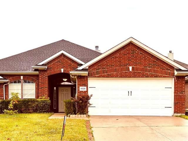 4520 Rockcliff Drive, Mesquite, TX 75150 (MLS #14461663) :: Real Estate By Design