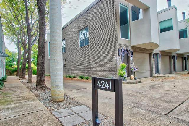 4241 Buena Vista Street #18, Dallas, TX 75205 (MLS #14462118) :: The Kimberly Davis Group