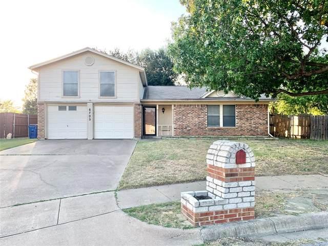 6705 Lampe Court, Watauga, TX 76148 (MLS #14462143) :: Hargrove Realty Group