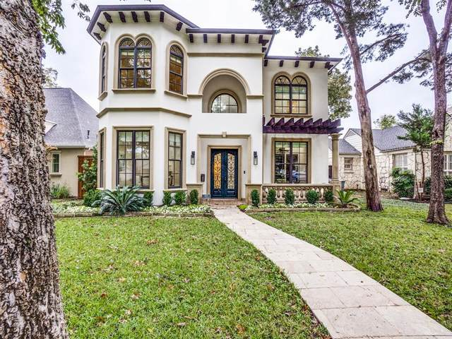 4715 W Amherst Avenue, Dallas, TX 75209 (MLS #14462415) :: Real Estate By Design
