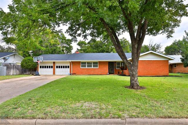 2149 Sylvan Drive, Abilene, TX 79605 (MLS #14462526) :: All Cities USA Realty