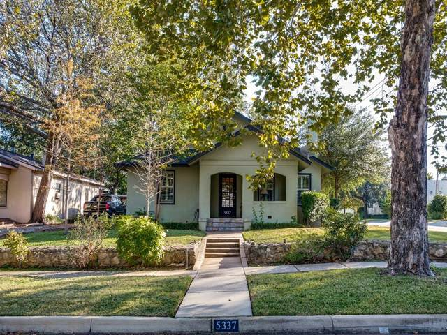 5337 Collinwood Avenue, Fort Worth, TX 76107 (MLS #14462555) :: Potts Realty Group