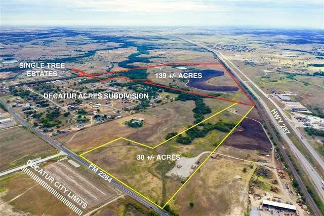 168+-AC Fm 2264, Decatur, TX 76234 (MLS #14462580) :: Robbins Real Estate Group
