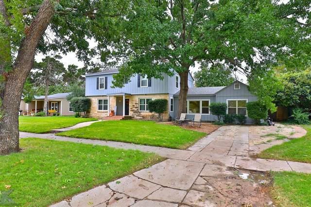 1910 Belmont Boulevard, Abilene, TX 79602 (MLS #14462815) :: NewHomePrograms.com LLC
