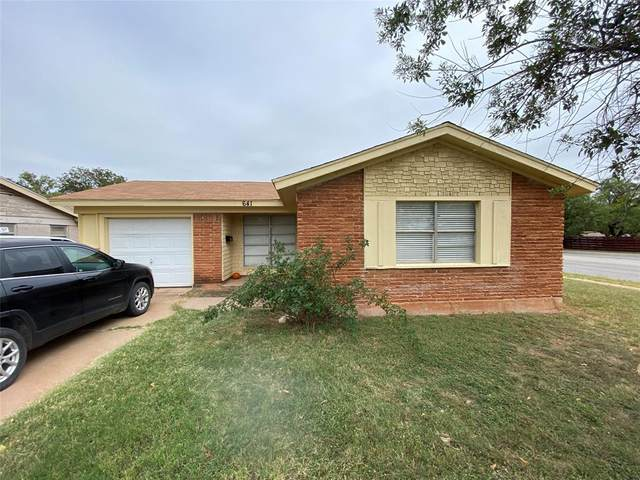 641 S San Jose Drive, Abilene, TX 79605 (MLS #14462822) :: The Hornburg Real Estate Group
