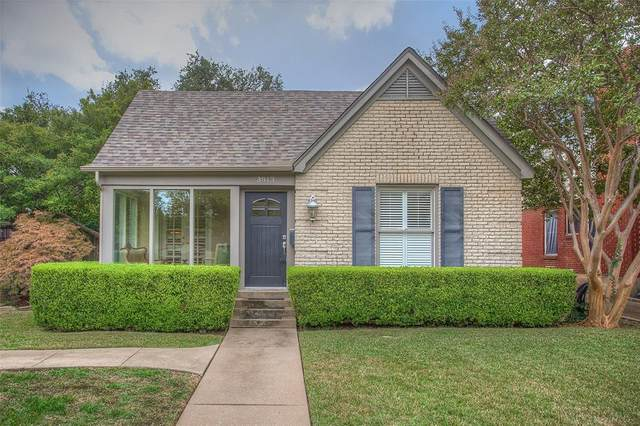 3813 Westcliff Road S, Fort Worth, TX 76109 (MLS #14462841) :: Real Estate By Design