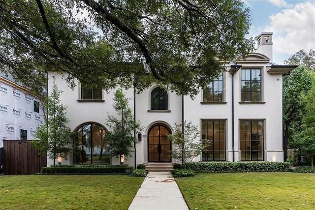 3609 Bryn Mawr Drive, University Park, TX 75225 (MLS #14462859) :: Real Estate By Design