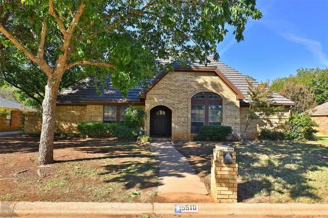 5510 Chimney Rock Road, Abilene, TX 79606 (MLS #14462916) :: The Chad Smith Team