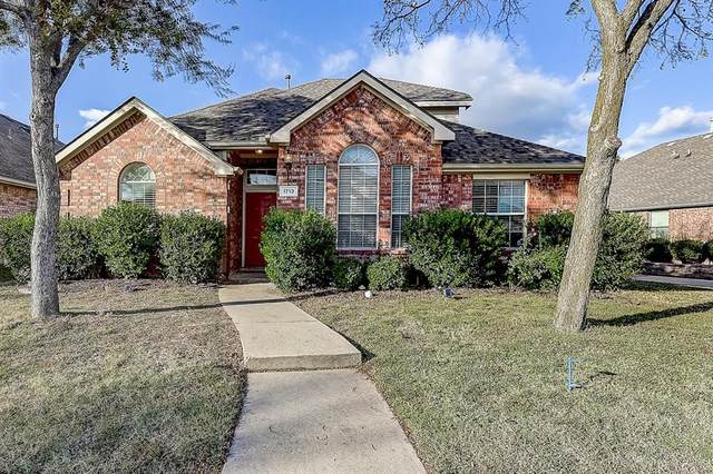 1713 Mineral Springs Drive, Allen, TX 75002 (MLS #14463085) :: Real Estate By Design