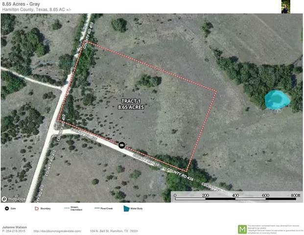 TBD Cr 410 & 436, Purmela, TX 76566 (MLS #14463187) :: The Kimberly Davis Group