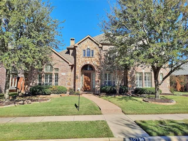 10114 Tambra Drive, Frisco, TX 75033 (MLS #14463359) :: Post Oak Realty