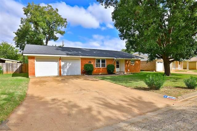 4084 Laurel Drive, Abilene, TX 79603 (MLS #14463445) :: All Cities USA Realty