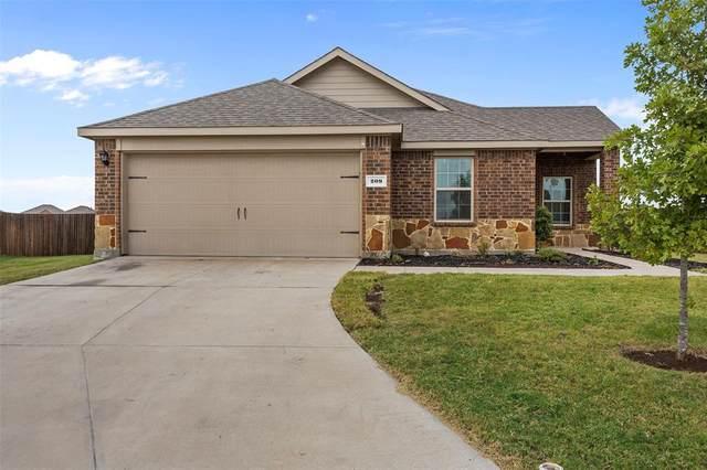 209 Gallop Court, Waxahachie, TX 75165 (MLS #14463492) :: The Good Home Team