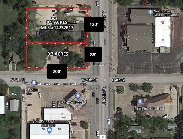 1301 N Main Street, Weatherford, TX 76086 (MLS #14463759) :: Premier Properties Group of Keller Williams Realty