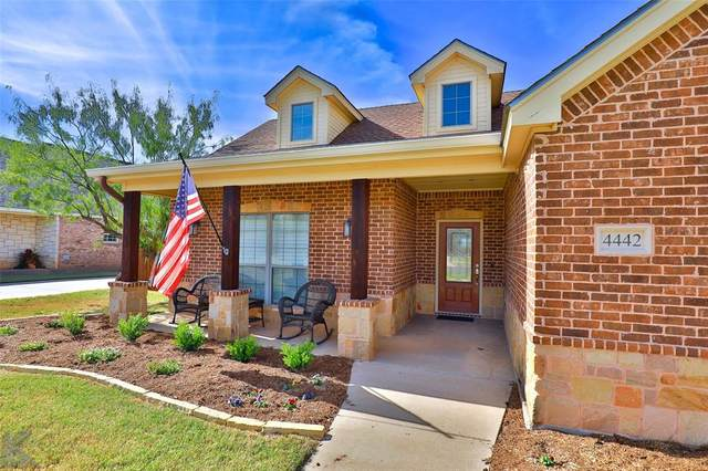 4442 Lonesome Dove Trail, Abilene, TX 79602 (MLS #14463798) :: The Paula Jones Team | RE/MAX of Abilene