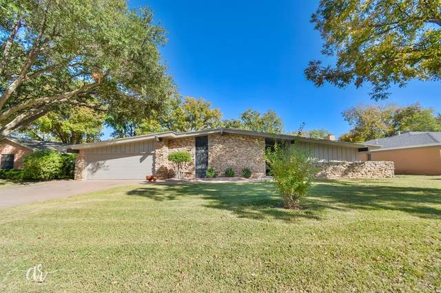 759 Rosewood Drive, Abilene, TX 79603 (MLS #14466140) :: The Paula Jones Team | RE/MAX of Abilene