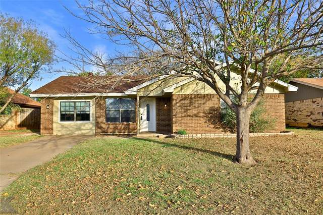 7933 White Boulevard, Abilene, TX 79606 (MLS #14466386) :: Premier Properties Group of Keller Williams Realty