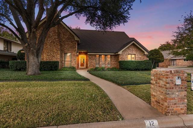 12 Cypress Point Street, Abilene, TX 79606 (MLS #14466441) :: Real Estate By Design