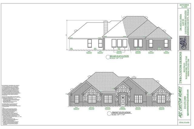 240 Agua Linda Drive, Godley, TX 76044 (MLS #14467175) :: Robbins Real Estate Group