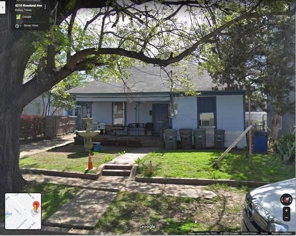 4210 Roseland Avenue, Dallas, TX 75204 (MLS #14468604) :: Frankie Arthur Real Estate