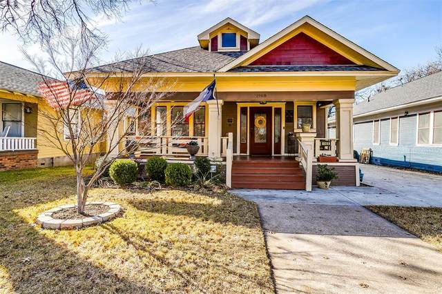 1968 Alston Avenue, Fort Worth, TX 76110 (MLS #14469054) :: The Mauelshagen Group