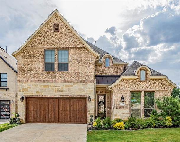 4415 Eastwoods Drive, Grapevine, TX 76051 (MLS #14469611) :: Robbins Real Estate Group