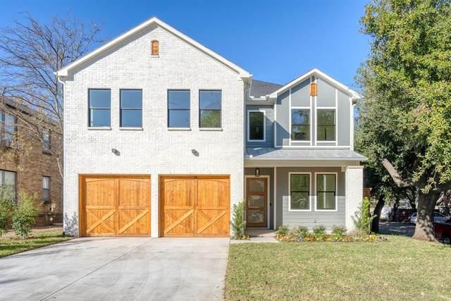 5947 Vickery Boulevard, Dallas, TX 75206 (MLS #14469712) :: The Kimberly Davis Group