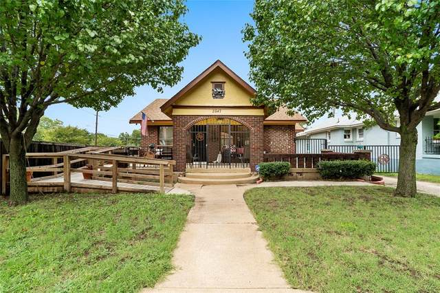 2847 Kingston St, Dallas, TX 75211 (MLS #14469738) :: The Kimberly Davis Group