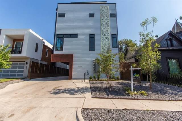 4406 Munger Avenue #2, Dallas, TX 75204 (MLS #14469744) :: Frankie Arthur Real Estate