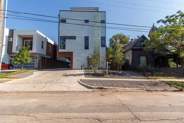4406 Munger Avenue #3, Dallas, TX 75204 (MLS #14469783) :: Frankie Arthur Real Estate