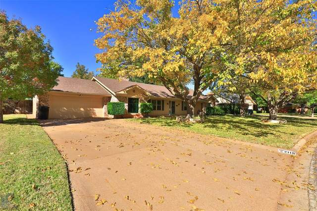 2118 River Oaks Circle, Abilene, TX 79605 (MLS #14469796) :: The Tierny Jordan Network