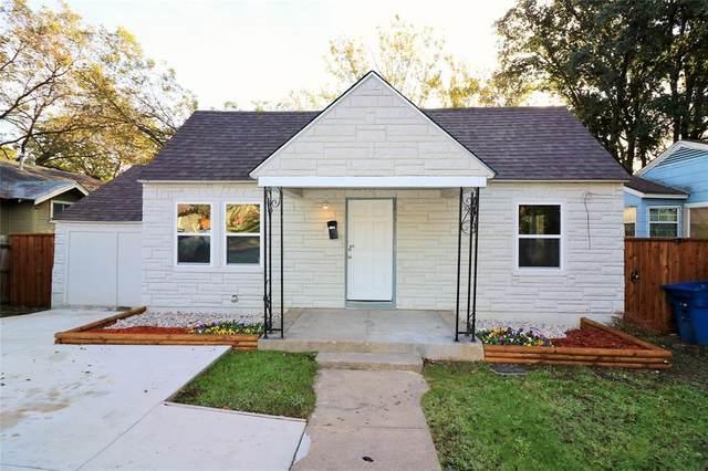2126 Ramsey Avenue, Dallas, TX 75216 (MLS #14469887) :: Real Estate By Design