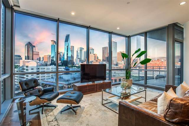 2200 Victory Avenue #802, Dallas, TX 75219 (MLS #14470005) :: Premier Properties Group of Keller Williams Realty