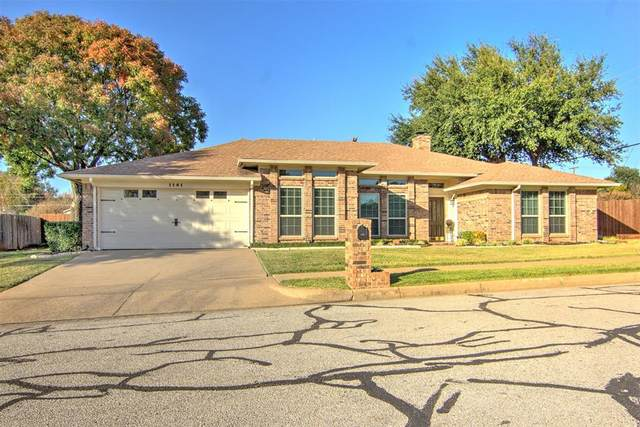 1141 Woodvale Drive, Bedford, TX 76021 (MLS #14470710) :: Real Estate By Design