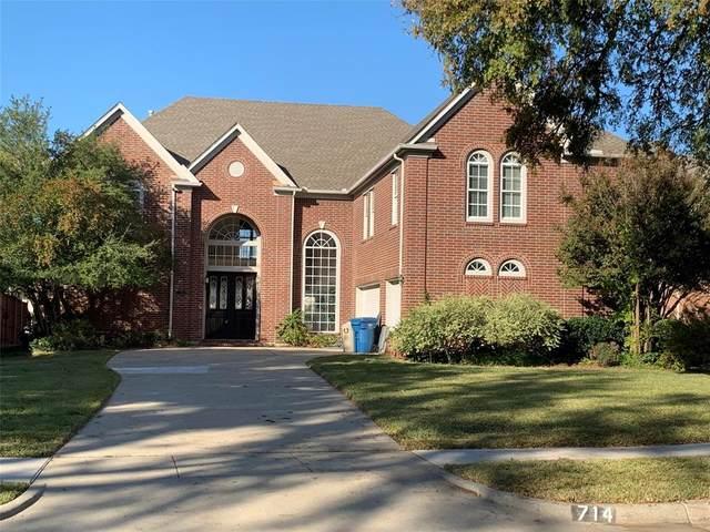 714 E Peninsula Drive, Coppell, TX 75019 (MLS #14470823) :: The Kimberly Davis Group