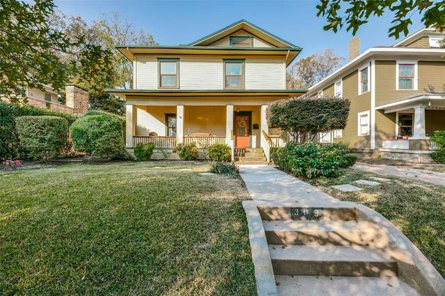 309 S Edgefield Avenue, Dallas, TX 75208 (MLS #14471205) :: The Tierny Jordan Network