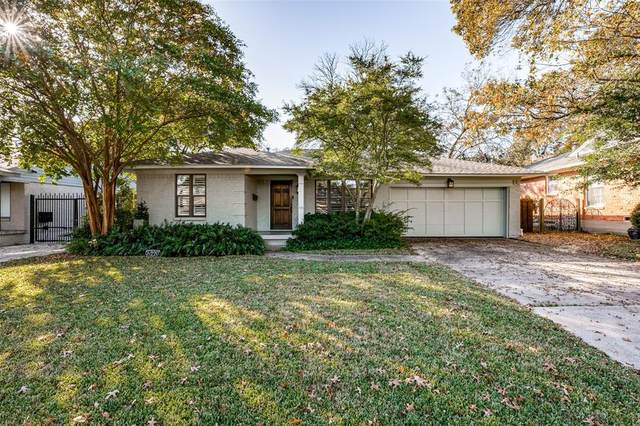 6220 Sudbury Drive, Dallas, TX 75214 (MLS #14471298) :: Real Estate By Design