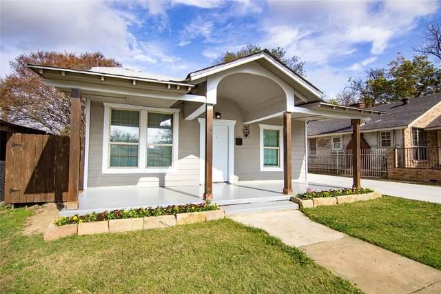 3705 Avenue M, Fort Worth, TX 76105 (MLS #14471456) :: Trinity Premier Properties